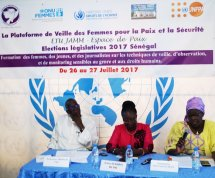 ELECTIONS LEGISLATIVES AU SENEGAL : FORMATION DES OBSERVATRICES
