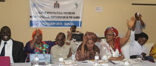 Promoting women's political participation in The Gambia