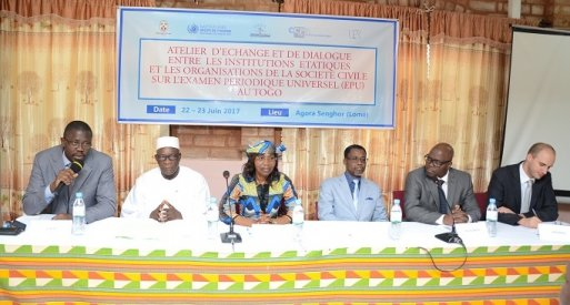 Mission au Togo : favoriser la coopération entre gouvernement, Institution Nationale des Droits de l'Homme et société civile pour améliorer la situation des droits de l'homme_20_25 juin 2017_crédits HCDH-BRAO