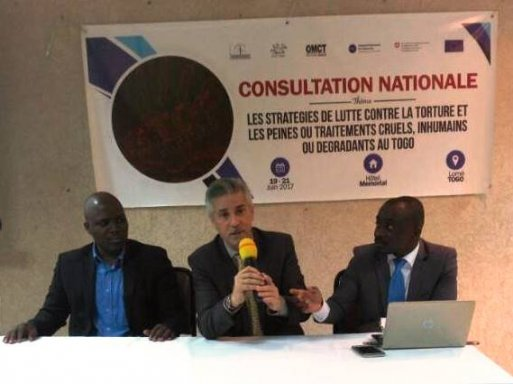 Mission au Togo : favoriser la coopération entre gouvernement, Institution Nationale des Droits de l'Homme et société civile pour améliorer la situation des droits de l'homme