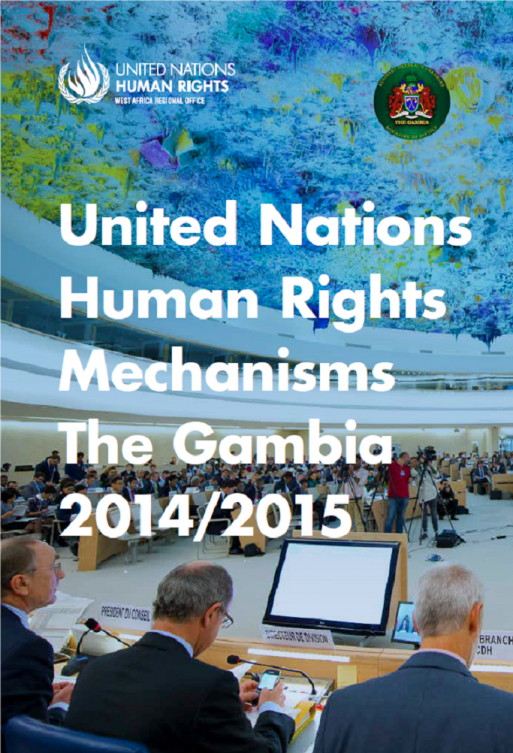 United Nations Human Rights Mechanisms The Gambia 2014/2015